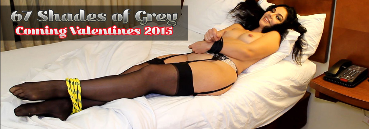 Jackie Stevens bound for 67 Shades of Grey